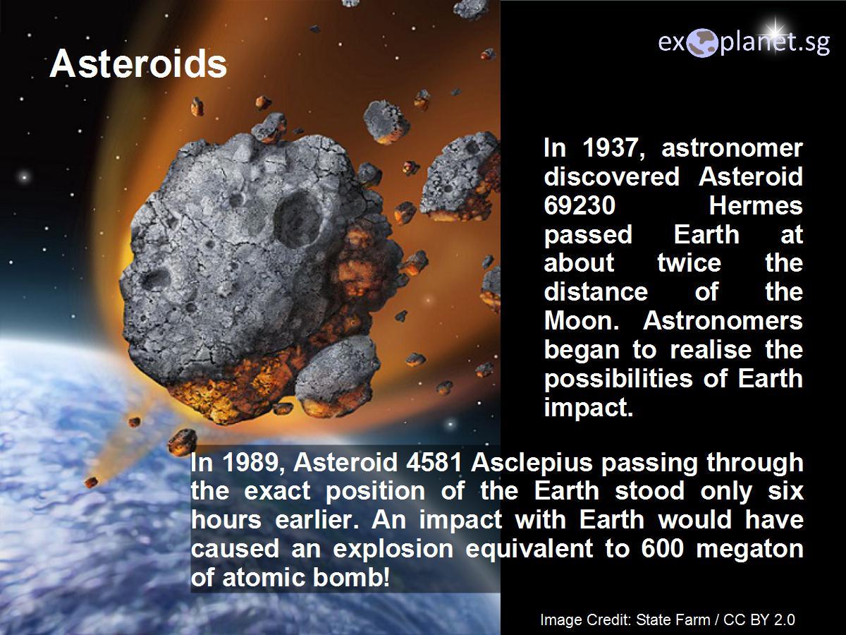 exoplanet observatory pte  ltd     asteroids